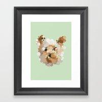 Terrier  Framed Art Print