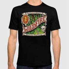 The Green Demon Mens Fitted Tee SMALL Black