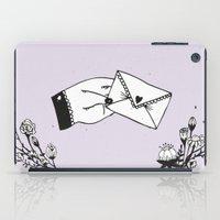 Snail Mail Love iPad Case