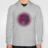 Pink Retro Abstract Hoody