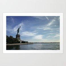 Statue of Liberty 3. Art Print