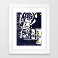 ROBO ATTACK! Framed Art Print