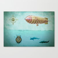 Navigators Canvas Print