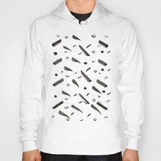 Brushes Pattern Hoody