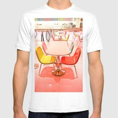 Bright Chairs Mens Fitted Tee SMALL White