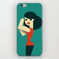 We Can Do It! iPhone & iPod Skin