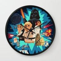 Star Wars FanArt: Rats Wars Wall Clock