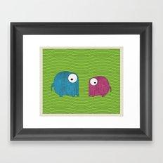 LF's Framed Art Print