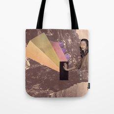 high into the sky Tote Bag