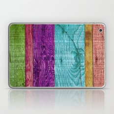 Colorful Wood  Laptop & iPad Skin