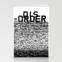 Dis-order Stationery Cards