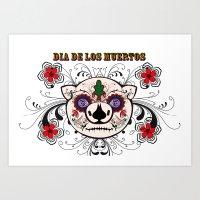 Berto: Dia De Los Muerto… Art Print