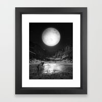 Somewhere You Are Lookin… Framed Art Print