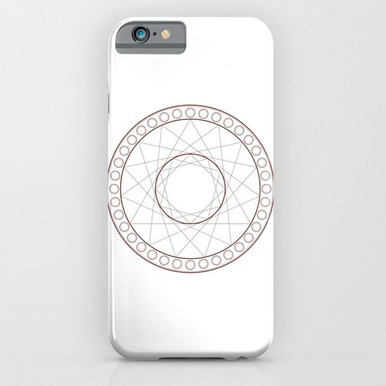 Anime Magic Circle 17 iPhone & iPod Case