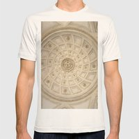 Caserta Mens Fitted Tee Natural SMALL