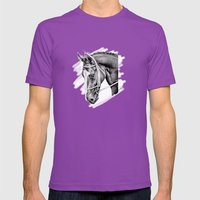 Sport Horse Mens Fitted Tee Ultraviolet SMALL