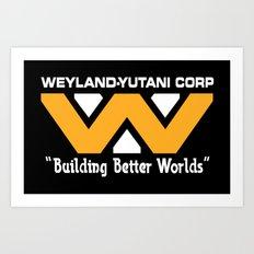 Weyland-Yutani Corporation Art Print