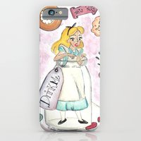 alice in wonderland iPhone & iPod Cases featuring Wonderland  by Marilyn Rose Ortega