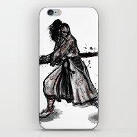 Bloody Samurai iPhone & iPod Skin