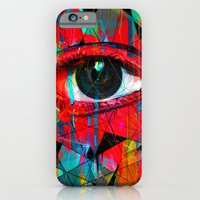 iPhone & iPod Case featuring Useless Eyes by nicebleed