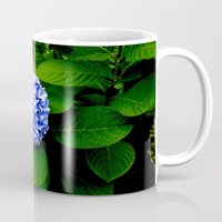 Blue Flower (Edited) Mug