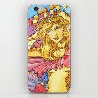 Hibiscus Queen iPhone & iPod Skin