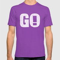 GO! Mens Fitted Tee Ultraviolet SMALL