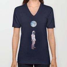 Moon Balloon Unisex V-Neck