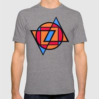 Stardust Industries Mens Fitted Tee Tri-Grey SMALL