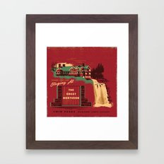 THE GREAT NORTHERN Framed Art Print