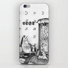 Unicorn house iPhone & iPod Skin
