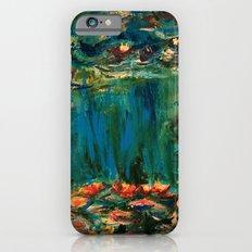 Water Lilies iPhone 6 Slim Case