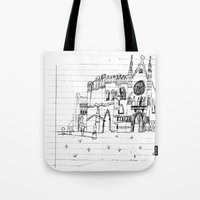 Childhood Drawings (Cathedral) Tote Bag