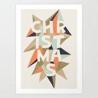 Christmas Sparkle Art Print
