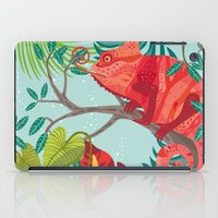 The Red Chameleon  iPad Case