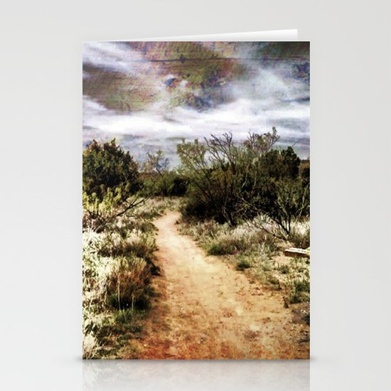 Down the Beaten Path Stationery Card