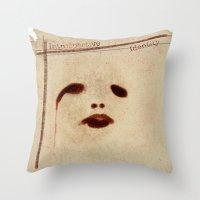 Introspective Identity Throw Pillow