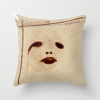 Introspective Identity Throw Pillow