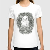 Owline Womens Fitted Tee White SMALL