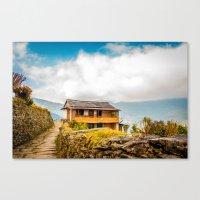 Village House Canvas Print