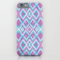 Aqua Berry Ikat iPhone 6 Slim Case
