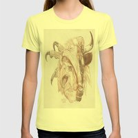 Cherubim Womens Fitted Tee Lemon SMALL