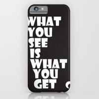 iPhone & iPod Case featuring What You See by FalexanderArt