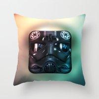 TIE Fighter Pilot Throw Pillow