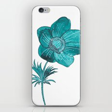Anemone Watercolor iPhone & iPod Skin