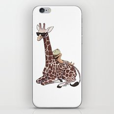 Niall and His Giraffe iPhone & iPod Skin