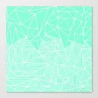 Becho Rays Canvas Print