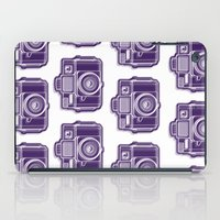 I Still Shoot Film Holga Logo - Deep Purple iPad Case
