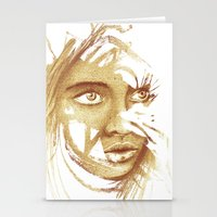 Wild Girl Stationery Cards