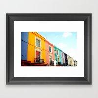 Colourful Houses Of Port… Framed Art Print